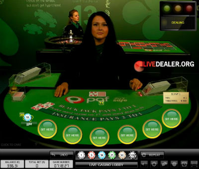 Paf live blackjack
