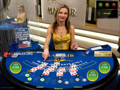 William Hill live blackjack