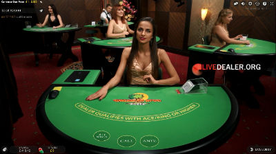 Party Casino live Casribbean Stud poker