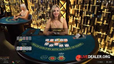Evolution Gaming Caribbean Stud Poker