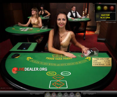 grosvenor live 3 card poker