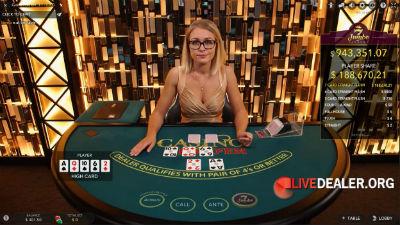 BetVictor live poker tables