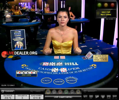 William Hill live poker