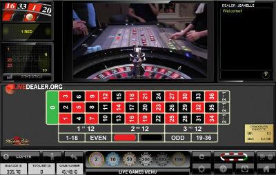 Unibet live dual play roulette (Dragonara Casino)