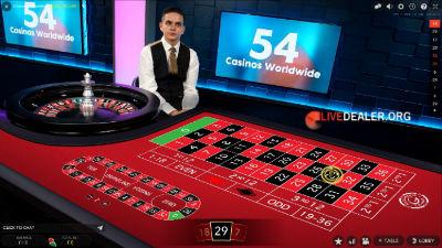 grosvenor live roulette