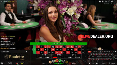 live roulette at Roxy Palace