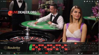 Jackpot City live roulette