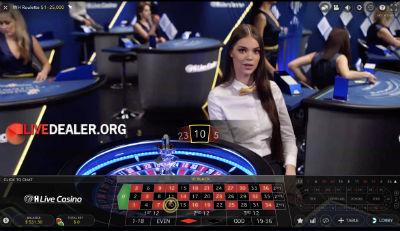 William Hill live roulette