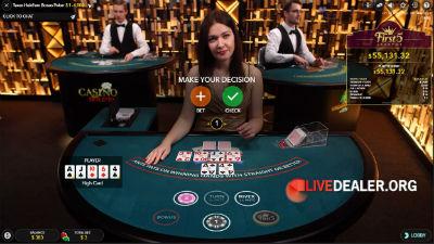 Evolution Gaming live dealer Texas Hold'em Poker