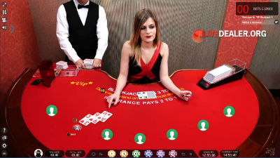 Extreme Live Casino blackjack