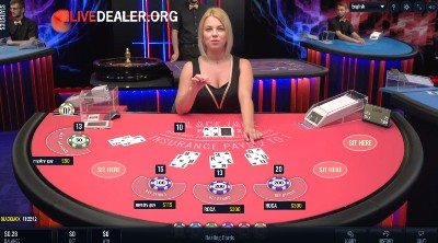 Fresh Deck Studios live dealer blackjack