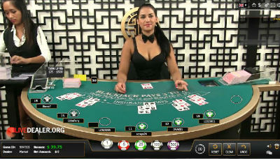 5Dimes Rebate live dealer blackjack