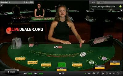 BetVictor live blackjack