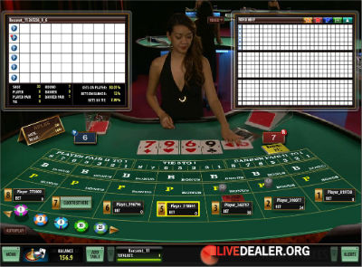 Betway live baccarat