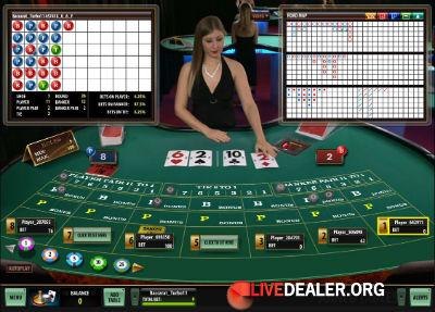 Europe Live Casino baccarat