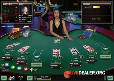 Europe Live Casino live blackjack