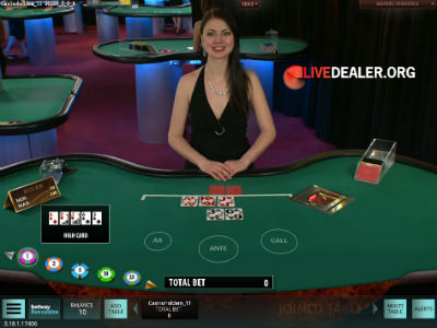 Microgaming live casino hold'em poker