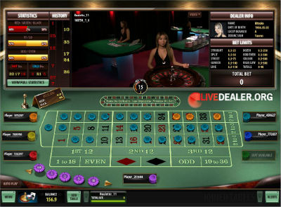Platinum Play live roulette