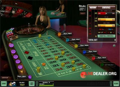 Royal Vegas live roulette