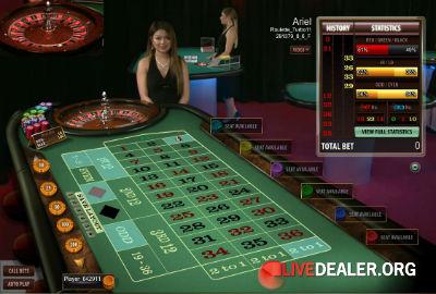 Europe Live Casino roulette