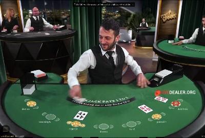 Mr Green live blackjack