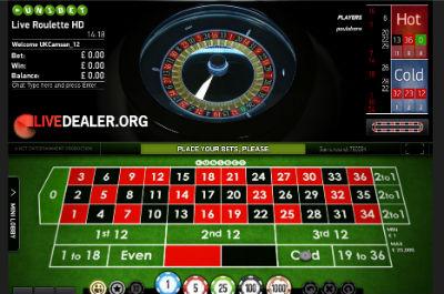 Unibet live auto roulette