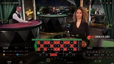Mr Green / Netent live roulette