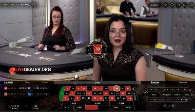 888 (NetEntertainment) live roulette