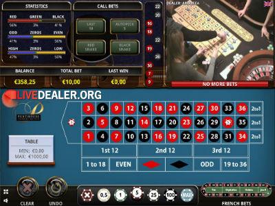 Penthouse casino live roulette