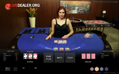 bet365 live 3 Card Brag