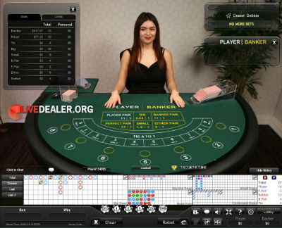 bet365 live baccarat