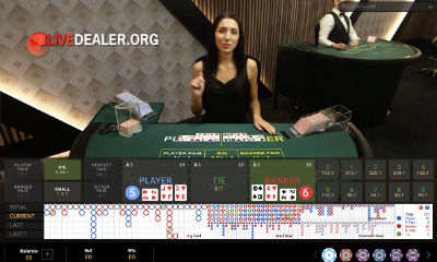 Paddy Power live baccarat