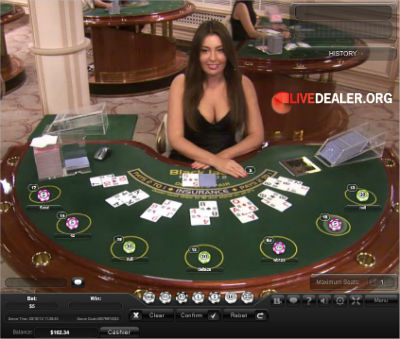 Europa live blackjack