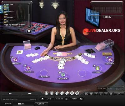 Basics of live online blackjack