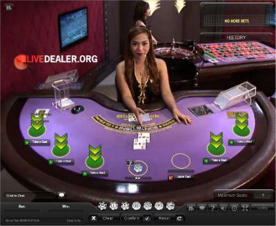 dafabet live blackjack