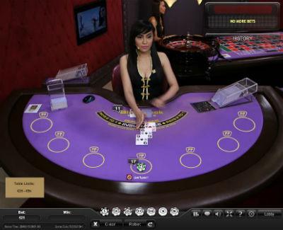 paddypower live blackjack (Asian studio)