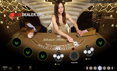 Super Casino live blackjack