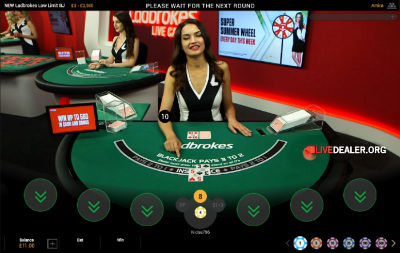 Ladbrokes live blackjack