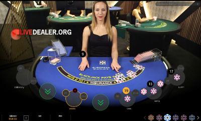 William Hill live blackjack