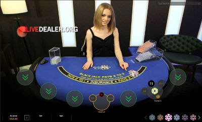 Europa live blackjack