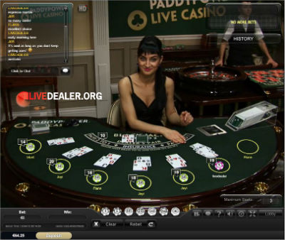 paddypower live blackjack