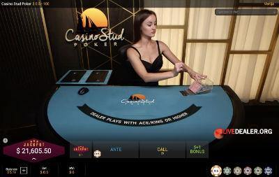 Playtech Casino Stud Poker