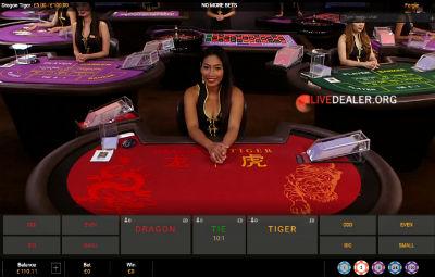 bet365 live Dragon Tiger