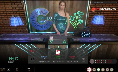 Live Hi Lo and SuperCasino
