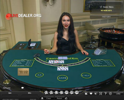 William Hill live poker