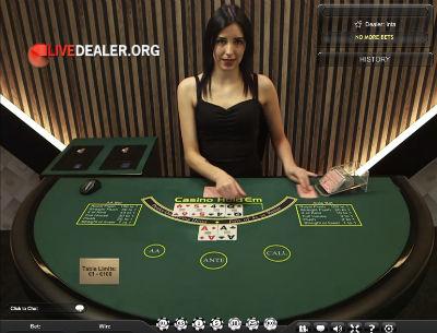 Paddy Power live poker