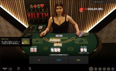 Tropez Casino Hold'em poker