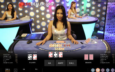 Super Casino Live Casino Hold'em Poker