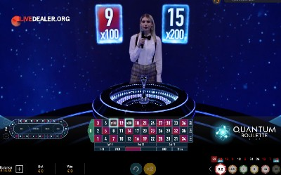 Quantumn Roulette at Betfair