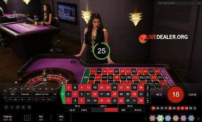 Paddy Power live roulette (Asian studio)